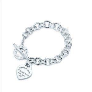 Tiffany & Co. heart tag bracelet